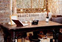Cozy & Warm Decor / Comfy, cozy home interior.