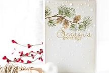 Craft ~ Christmas / Christmas inspiration from cards to decor and everything in between!