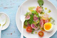 Salads / Des salades colorées et gourmandes, du frais, du cru, du cuit, du rôti : il y en a pour tous les goûts !  Végétarien et vegan