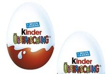 Chocolates & Cookies for Children / Chocolates and cookies for children. #kinder #kindersurprise