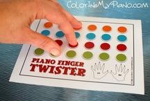 Teaching again / piano pedagogy and fun ideas / by Ashley Lynn