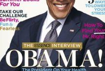 Obama Years Magazine Covers