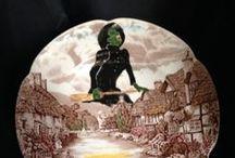 ceramics with decals