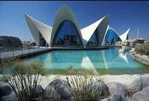 City of Arts and Sciences and Oceanográfic de Valencia /  Ciudad de las Artes y las Ciencias y el Oceanográfic de Valencia