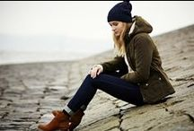 Barbour Ursula Collection / A unique combination of practicality and prettiness, the Ursula collection is a stylish celebration of British maritime history, and the part that Barbour has played in it. A delightful collection of heavy duty, robust, yet elegant jackets and knitwear, the collection expertly combines a military influence with feminine style.  From wax field jackets to tailored wool coats, Ursula is home to a diverse range of jackets, as well as classic cable knit sweaters. / by Country Attire