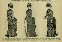 19th Century Fashion and Steampunk Inspiration / some overlap into early 20th century.  Patterns, styles, hair, etc.
