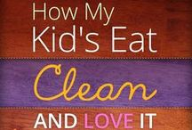 Food: Clean Eating Tips / Getting started eating right is not easy.  If you and your family are doing this together, please enjoy my FREE Kids Clean Eating book - http://kidscleaneating.shanphillipp.com/