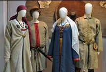 Re-enactors' clothes, patterns, theories and supplies