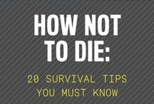 FOR THE ZOMBIE APOCALYPSE! And stuff... / Survival gear, modern camping equipment, uber gear