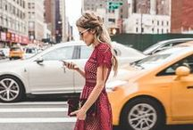 NY Street Style / Chic looks for the streets of NYC.
