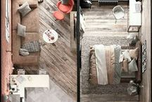 Cozy home  - plan | layout