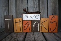 HOLIDAYS: Thanksgiving & Fall Ideas