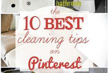 CLEAN: Cleaning Tips & Tricks / Cleaning tips, tutorials, and how-tos / by Crazy Daze Designs