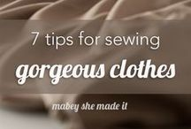 MAKE THIS: DIY Fashion / Women's sewing & DIY fashion tutorials