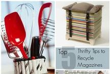 Recycled Magazines / by Wendy | GimmieFreebies