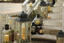 candles and lanterns and lamps and lighting / by Blanche Peterson