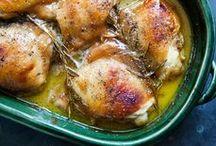 Receitas & Recipes - Frango & Chicken & Poulet / Receitas