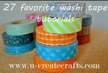 MAKE THIS: Washi Tape Ideas
