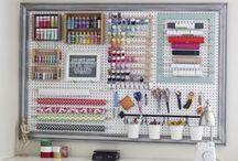 HOME: Craft Room Design / by Crazy Daze Designs