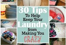 CLEAN: Laundry / by Crazy Daze Designs