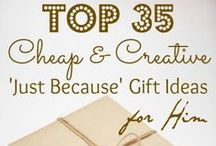 GIVE THIS: Gifts for Him / by Crazy Daze Designs