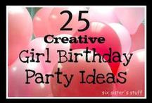 EVENTS: Birthday Parties / by Andi McDonald