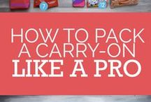 TRAVEL: Packing & Planning / Planning and packing tips for vacations and travel.