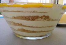 Receitas & Recipes - Doces de Colher & Spoon Desserts