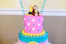 Curious George party for the Girls / by Kim Swezey