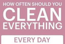 Oopsie Daisy / New things to try when cleaning up