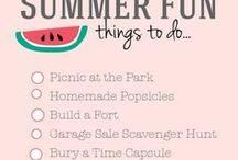Summer Activity Love