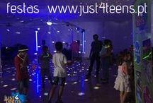 Festa discoteca just4disco / Para todos os adolescentes que querem experimentar uma discoteca: luzes, bola de espelhos, fumos, música, tens tudo à tua disposição.