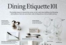 LESSONS: Etiquette