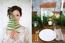 Wedding Decoration and Details / Wedding inspiration for decorations and details