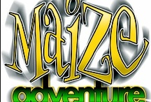 Kersey Valley Maize Adventure / Family attractions that include a 10 acre corn maze, jumping pillow, cow train, gem dig, tram ride and pumpkin patch