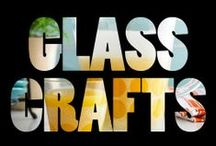crafts | glass + acrylic