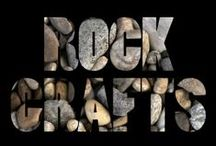 "crafts | rocks / ""Now you don't have to be ashamed to have a 'Pet Rock'!"""