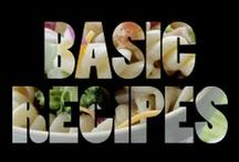 "food | basic recipes / ""And by basic I don't mean taste... it just doesn't fit in any other category.  ...but if I had a 'Yummy' category, it would probably fit"""