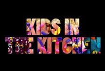 "kids | in the kitchen / ""There's something about this title that brings me back to the time when the fire department showed up to our house back when I was... nevermind... enough reminiscing"""