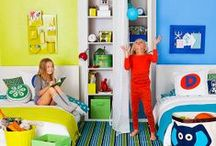 design | play, read, create / Design ideas for playrooms, reading nooks, and art and craft stations for kids. / by Pam Joseph @ICouldSoMakeThat