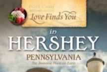 Novel | Love Finds You in Hershey, PA / Sadie Spencer's life is a recipe for disaster. From a denture faux-pas to a local dessert competition, Sadie encounters one heartwarming and hilarious adventure after another in her hometown of #Hershey, #Pennsylvania. But when her pride gets in the way of God's will, Sadie fears this time she may have bitten off more than she can chew. Will she have her cake and eat it, too, or will a taste of humble pie poison all her well-laid plans? | http://cerellasechrist.com/books/lfyhershey/hersheystory/