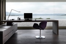 Architecture, interiors: Workspaces / by Up-her.com