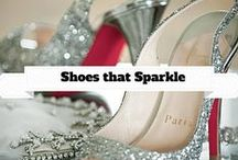 Shoes that Sparkle / This board is dedicated to finding the very best shoes that sparkle. Whether its sequins, rhinestone or diamonds <faint> the very best show up here. / by Wedding Sparklers USA