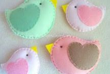 Fun with Felt / by Craft Supplies for Less, Inspire-Create