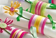 Ribbon Crafts / by Craft Supplies for Less, Inspire-Create