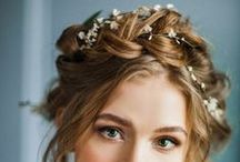Wedding Ideas : Hair / Hair styling inspiration for brides