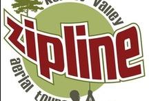 Kersey Valley Zip Line  / Guests and flight crew from Kersey Valley Zip Line.  visit www.kerseyvalleyzipline.com