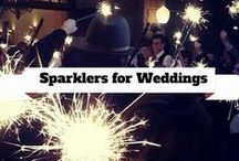 Sparklers for Weddings / This board is for all those sparkling weddings and inspiration for all you bride to be's :) #sparklers #weddings / by Wedding Sparklers USA