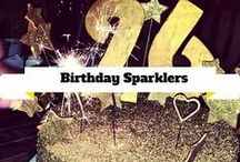 Birthday Sparklers / This board is dedicated to birthday sparklers. Whether your turning 17 or 70, sparklers are sure to jazz up your party. / by Wedding Sparklers USA