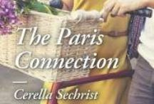 "Novel | The Paris Connection / The Paris Connection by Cerella Sechrist, published by Harlequin Heartwarming | ""Emma Brooks must help her new boss, Cole Dorset, adjust to life in #Paris after he's given the promotion that was meant to be hers following their company's merger."" 